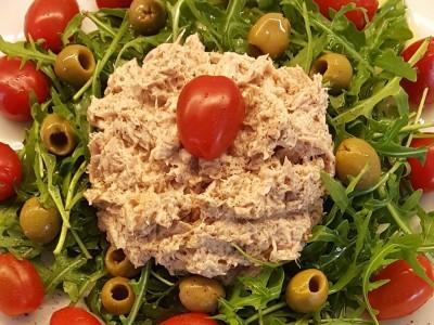 Tonijnsalade met rucola