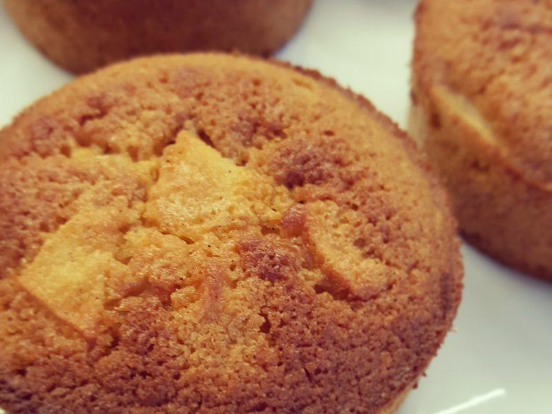Appel citroen muffins